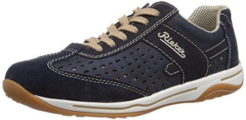 Rieker Damen L6247 Low-top, Blau (pazifik/pazifik/navy/15), 39 EU