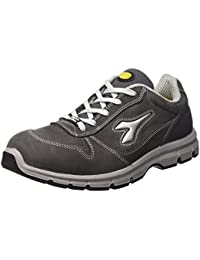 Diadora - Run Low S3, zapatos de trabajo Unisex adulto, Gris (Grigio Castello), 45 EU
