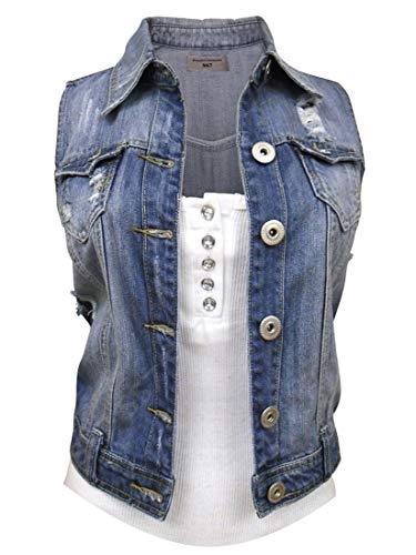 SS7 Gilet Donna Mid Blue 48