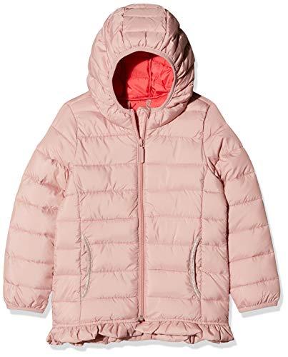 s.Oliver RED Label Mädchen Wattierte Jacke mit Rüschen-Details Light pink 116