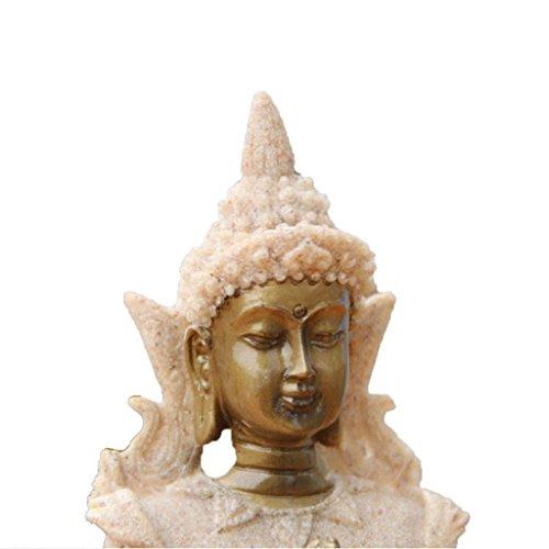 Der Farbton Sandstein Buddha Statue - 2