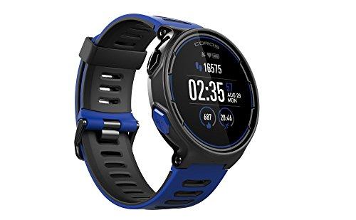 Pace Choirs - Sport Watch GPS con cardiofrequenzimetro basato sul polso, include corsa, ciclismo, nuoto e triathlon e altimetro barometrico, compatibile con Strava
