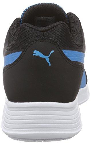 Puma St Trainer Evo Tech, Baskets Basses Mixte Adulte Bleu (atomic blue-black 02)
