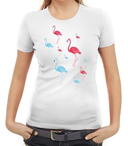 Karneval Fasching Urlaubs Hawaii Damen T-Shirt Gruppen & -
