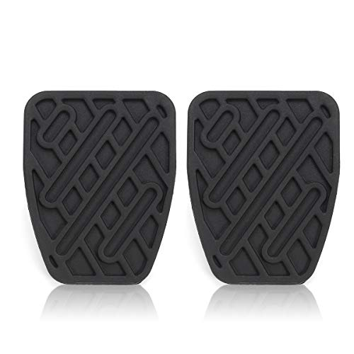 FATO. Brake And Clutch Car Pedal Pad Rubber Cover For Nissan Qashqai