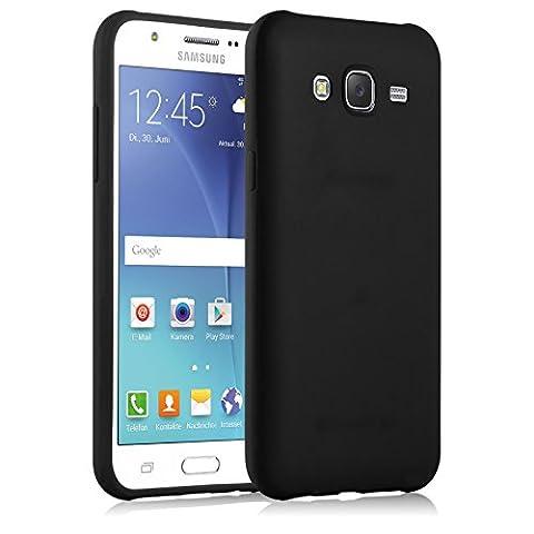 Coque Galaxy J5 (2015) | JammyLizard | protection back cover gel silicone flexible Coque Samsung Galaxy J5 2015, Noir