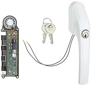ABUS Fenster-Stangenschloss FOS550A mit Alarm gleichschließend, weiß, 07299