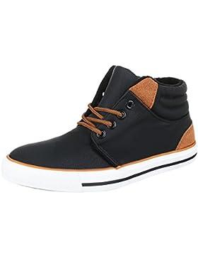 Freizeit Turnschuhe/Sneakers Kinderschuhe Low-Top Jungen Schnürsenkel Ital-Design Freizeitschuhe