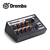 DM-208E Mini mixer audio portatile, commutabile Stereo 4 & Mono 8 canali microfono Audio Mixer console per DJ karaoke Party