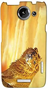 Timpax protective Armor Hard Bumper Back Case Cover. Multicolor printed on 3 Dimensional case with latest & finest graphic design art. Compatible with HTC one X+ ( Plus ) Design No : TDZ-25185