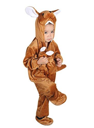 Känguru-Kostüm, F53 Gr. 92-98, für Klein-Kinder, Känguru-Kostüme Babies, Kinder-Kostüme Fasching Karneval, Kinder-Karnevalskostüme, Kinder-Faschingskostüme, Geburtstags-Geschenk