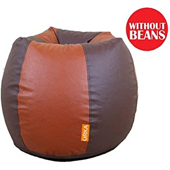 ORKA Classic XL Bean Bag Cover with Puffy - Without Beans