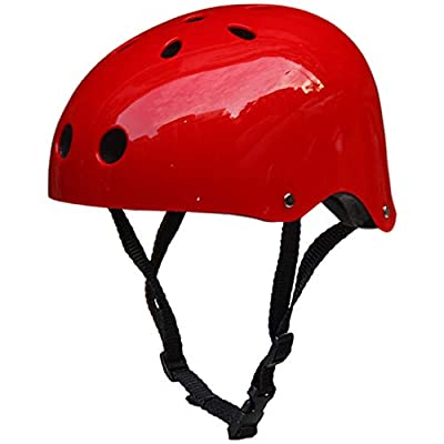 LUCKME Child Helmet, Ski Helmet Bumper Vented Safety Head Protection for Boys and Girls Bicycle Cycling Skateboard Scooter Multi-Sport by LUCKME