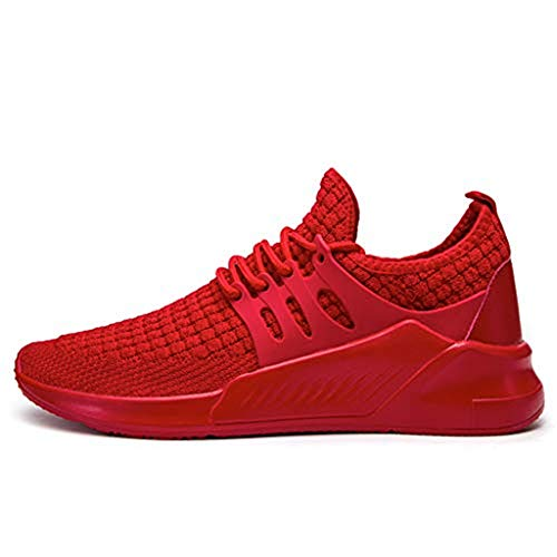 Dasongff Hohe Sneaker Herren,Atmungsaktiv Ultraleicht Turnschuhe,Männer Laufschuhe Trainer Classic Bequeme Sportschuhe,Schnürer Running Shoes für Fitness Trekking - Tr, Neue Trainer Schuhe