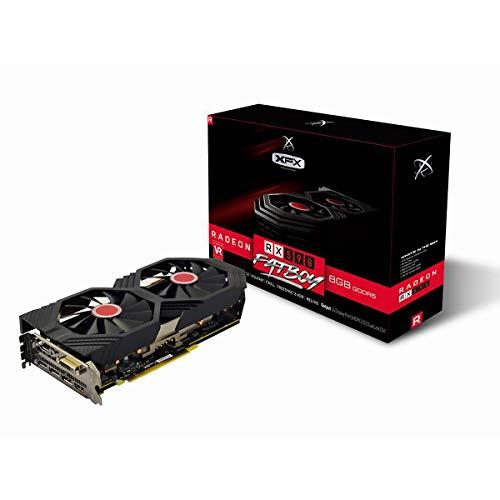 XFX RX-590P8DFD6 Grafikkarte Radeon RX 590 8 GB GDDR5 - Grafikkarten (Radeon RX 590, 8 GB, GDDR5, 256 Bit, 4096 x 2160 Pixel, PCI Express x16 3.0)