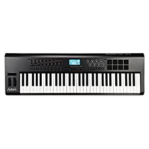m audio axiom61 clavier maitre midi 61 touches usb noir instruments de musique. Black Bedroom Furniture Sets. Home Design Ideas