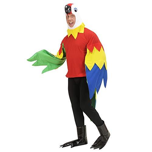 Widmann - Erwachsenenkostüm (Papagei Kostüm Ideen)