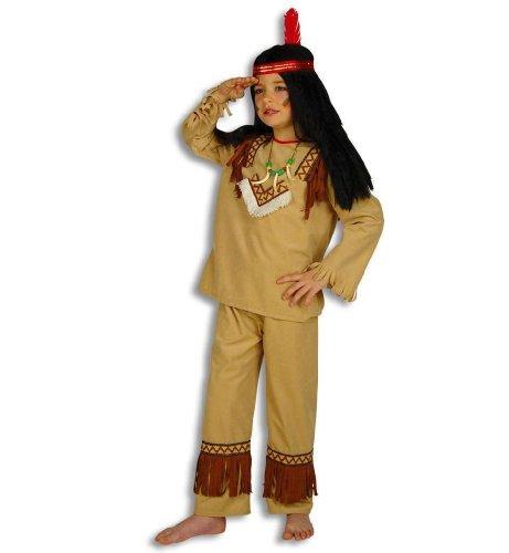 Kind Wolf Kostüm - Indianer Kleiner Wolf Kinder Kostüm Gr 116