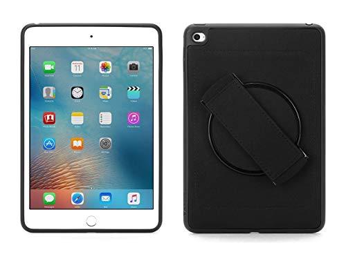 Griffin Air Strap 360 Schutzhülle für Apple iPad mini 4 - schwarz [Handschlaufe I 360° drehbar I Widerstandsfähiges TPU I Neopren Rückseite] - GB41298 - Straps-mini