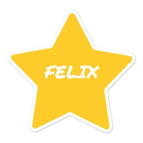 Preisvergleich Produktbild JOllify Aufkleber - FELIX – Farbe: Design: Stern
