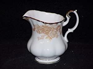Royal Albert Old Country Roses-Pot à Lait-crème/or