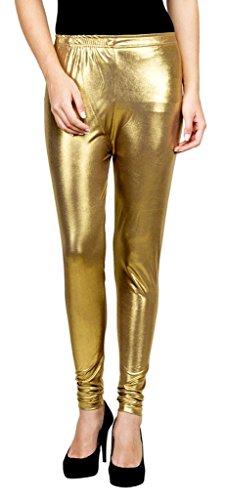 Bossify Women\'s Golden Leggings