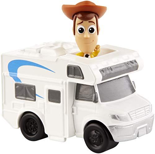 Mattel Disney Toy Story 4 Minifigura de Woody y...