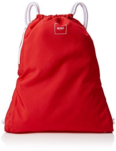 Imagen de mstrds basic unisex gym saco , color rojo, tamaño talla única