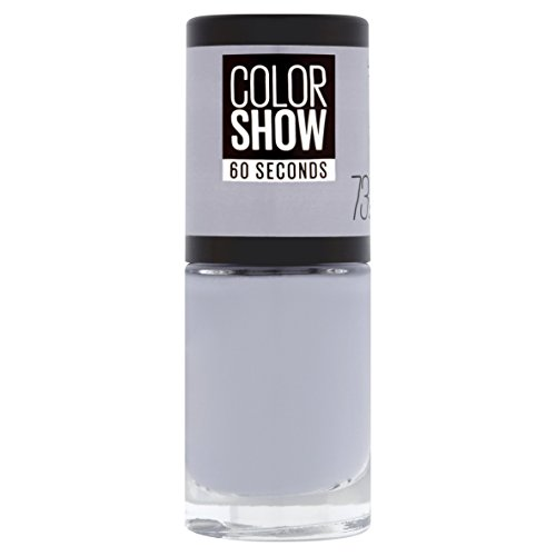 Maybelline New York Colorshow - Vernis à ongles -73 CITY SMOKE - Gris clair