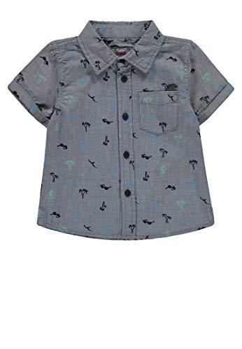 Kanz Hemd kurzärmlig Jungen Allover,134