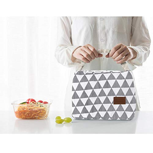 TAOtTAO Packet Thermische Isolierte Lunchbox Tote Kühltasche Bento Pouch Lunch Container (A)