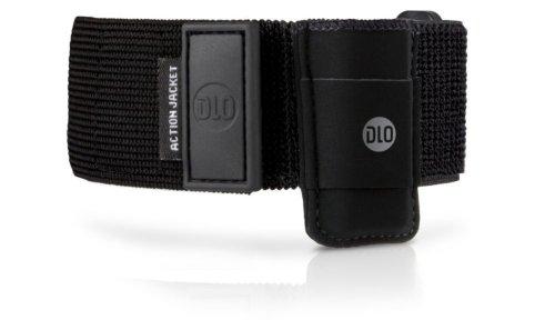 DLA 63143 D Neopren-Tasche mit Armband (Sichtfenster, Gürtel-Clip) für Apple iPod Shuffle schwarz