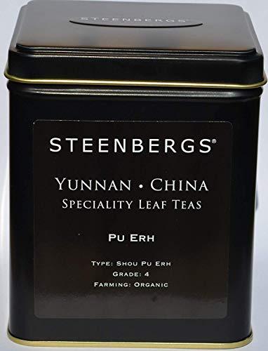Organic Pu-Erh Chinese Black Tea 125g Caddy