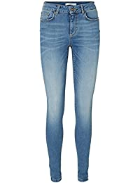 VERO MODA - Jeans - Slim - Femme Bleu Bleu