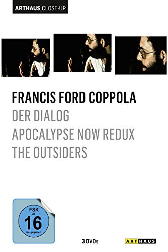 Francis Ford Coppola - Arthaus Close-Up ( Der Dialog / Apocalypse Now Redux / The Outsiders - The Complete Novel ) [3 DVDs]