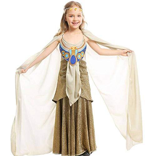 QWE Halloween Kostüm altägyptischen Mythologie Kleid COS ägyptischen Pharao Kindertag Leistungskostüm