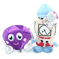 Moshi Monsters Soft Plush Toys - Moshlings Collection Twin Pack - Mini Ben & Roxy - Incs Online Secret Code