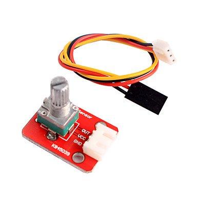ULIAN Modules/capteurs Arduimo accessonries Module Potentiomètre Réglable pour Arduino Intelligent Home Furnishing