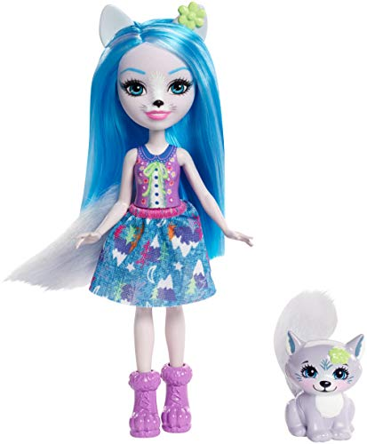 Enchantimals - Muñeca Winsley Wolf, (Mattel FRH40)