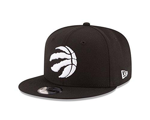 info for 92db6 f4538 New Era Toronto Raptors NBA Black White Logo 9fifty Snapback Cap Limited  Edition