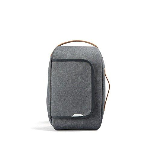 rawrow Fashion Schule Rucksack Schultasche R Tasche 206Wachs Haze, R Bag 206 Wax Haze, grau (Nordstrom Mädchen)
