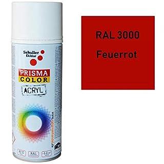 AEROSOL PEINTURE Color RAL3000 ROUGE FEU