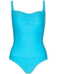 88f25d6bda96d5 Womens Ex M&S Secret Support Tummy Control One Piece Swimsuit