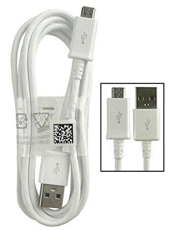 Echter weißer epdg925uwz Samsung Galaxy USB Datenkabel für Samsung Galaxy S2S3S4S6S6Edge S7, A5(2016), J5J7& andere Micro-Samsung Anschlüsse (keine Einzelhandelsverpackung-Bulk verpackt) (Handys Galaxy S2)