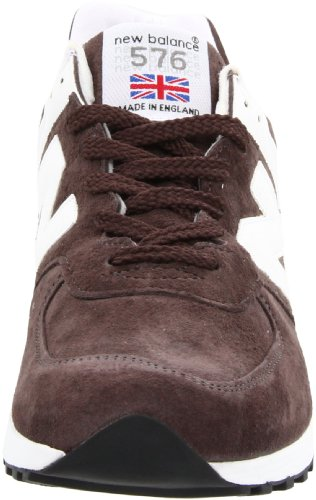 Sneaker New Balance 576 Uomo M576TPM in pelle (Brown with White)
