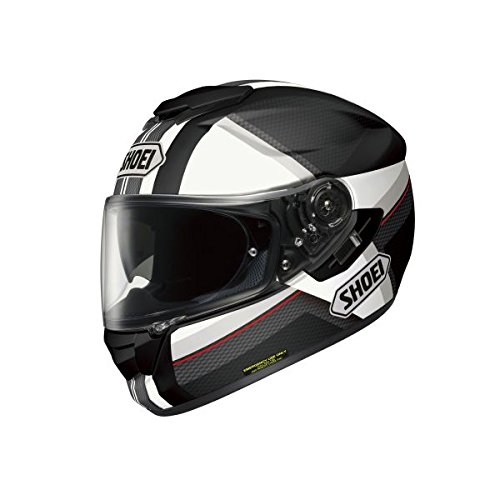 Shoei Gt Air Helmet Exposure – S – Black/White – Black
