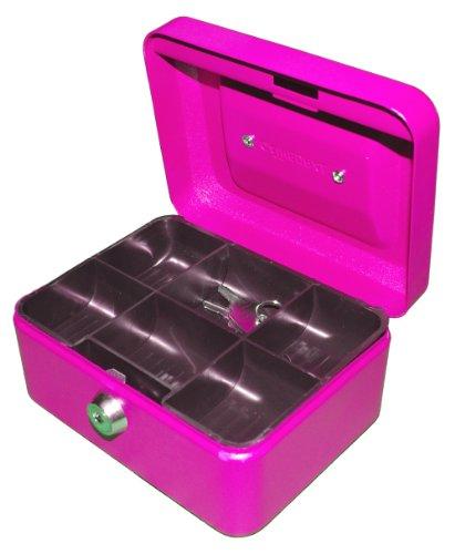 Geldkassette 15,24 cm pink