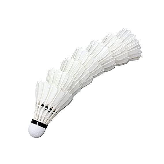 Forever Online Shopping Pieces Shuttle cocks (White, fos) - Pack of 40