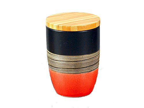 eon-ceramic-jar-set-with-wooden-lid-ejs-6604-320ml-1-piece-red-by-eon