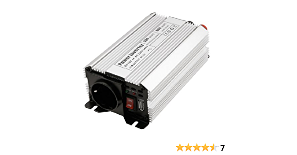 Spannungswandler Wechselrichter Power Stromwandler Konverter Inverter 12v Zu 230v 300w Beleuchtung